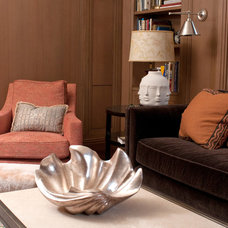 Contemporary Living Room by Modern Millwork Innovations