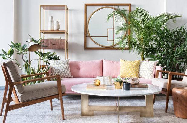 Scandinavian Living Room by Iqrup + Ritz (India)