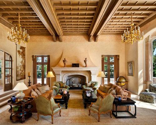 Tuscan Fireplace Houzz