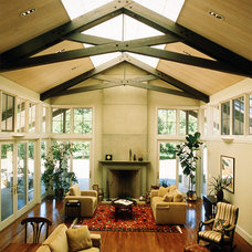 Traditional Living Room by Duxbury Architects