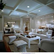 Traditional Living Room by Atheryn - Pohlig at Haverford Reserve