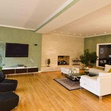Modern Living Room by Daniel M Martin, Architect LLC