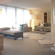 Contemporary Living Room by LKID