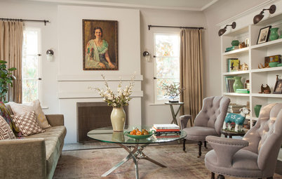 New This Week: 5 Fully Decorated Living Rooms That Don't Go Overboard