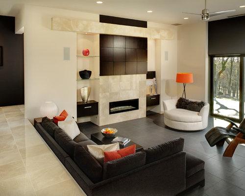 Sunken Living Room Home Design Ideas Pictures Remodel