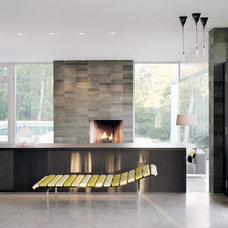 Modern Living Room by Audrey Matlock Architects