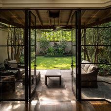 Contemporary Living Room by Dennis Brady Architect