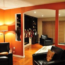 Contemporary Living Room by Idevoks Design