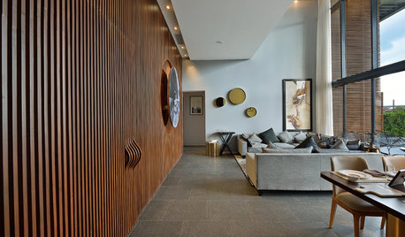 Living & Dining Room: 15 Stunning Wall Panelling Ideas