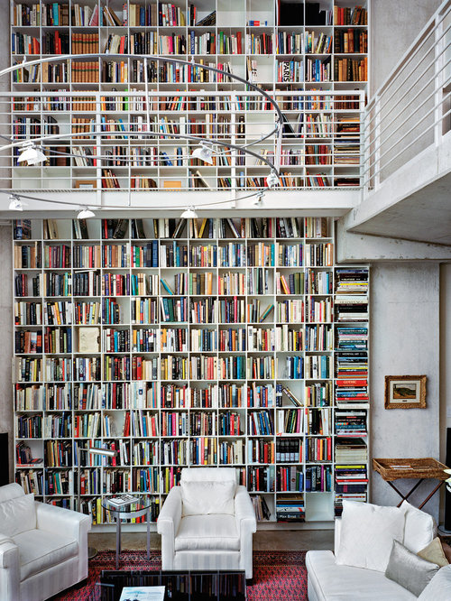 Wall Of Books | Houzz
