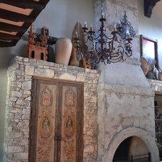 Mediterranean Living Room by Zemanek Architecture + Design