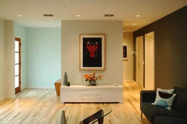 Modern Living Room by Design+Develop
