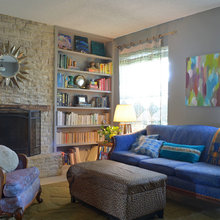 My Houzz: Upcycled Boho Style in an Austin Townhouse