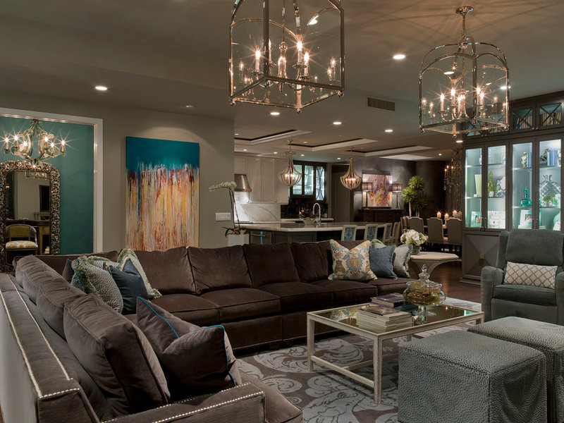 contemporary living room by Bravo Interior Design