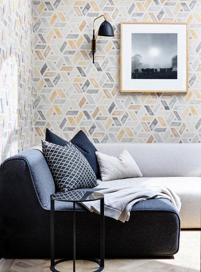 Scandinavian Living Room by Australian Interior Design Awards