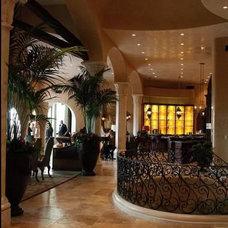 Mediterranean Living Room by Authentic Durango Stone™
