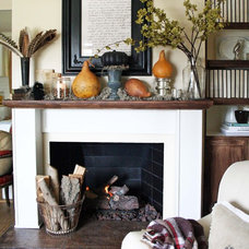 Traditional Living Room by Jennifer Grey Interiors