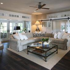 Beach Style Living Room by Beach Dwellings