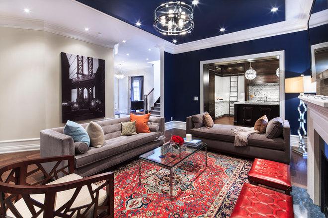 Contemporary Living Room by Avissa Mojtahedi Architecture & Design Inc.