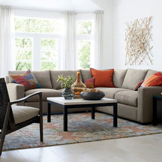 Traditional Living Room by Crate&Barrel