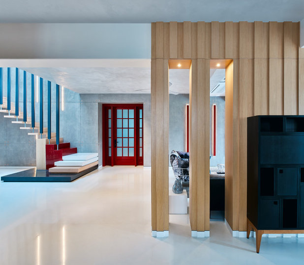 Contemporary Living Room by Fadd Studio