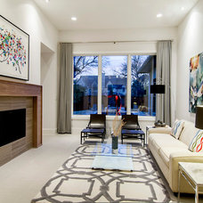 contemporary living room by John Lively & Associates