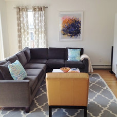 Contemporary Living Room by Hive Modular, LLC