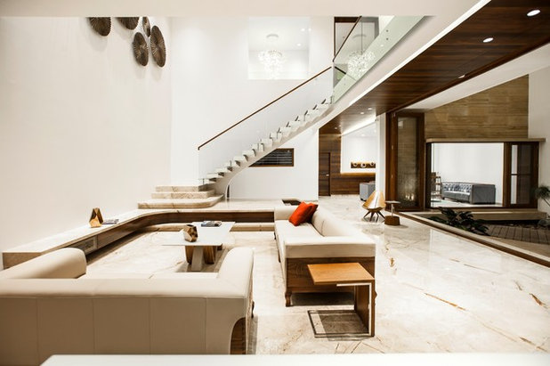 Contemporary Living Room B - Two Project