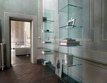Babele Bookcase Stand by Fiam Italia