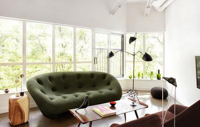 Vardagsrummet: Bryt normen – välj en soffa i en vågad färg