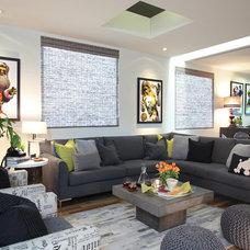 Eclectic Living Room by Suzie Parkinson SÜZA DESIGN