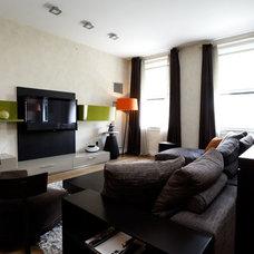 Contemporary Living Room by Holzman Interiors, Inc.