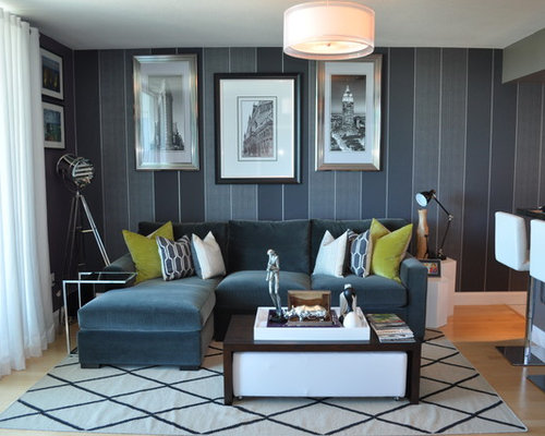 SaveEmail - Sectional Sofa And Coffee Table Houzz