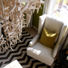 Eclectic Living Room by Plural Design Inc.