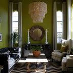 Modern Eclectic Living Room By Darbyshire Designs