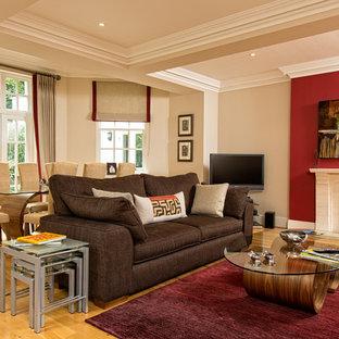 Living room - modern living room idea in Berkshire