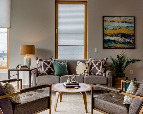 Grey And Teal Living Room Ideas And Photos Houzz