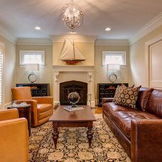 Traditional Living Room by Pixel Interiors Photography