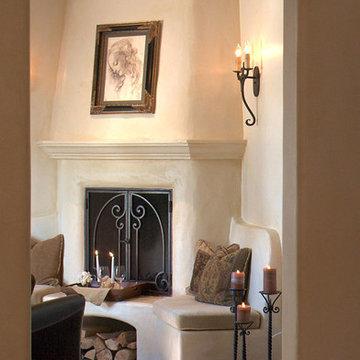Bachelor's Spanish Living Room