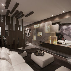 Contemporary Living Room by Marble of the World