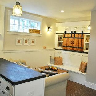 Klassisches Wohnzimmer in Seattle