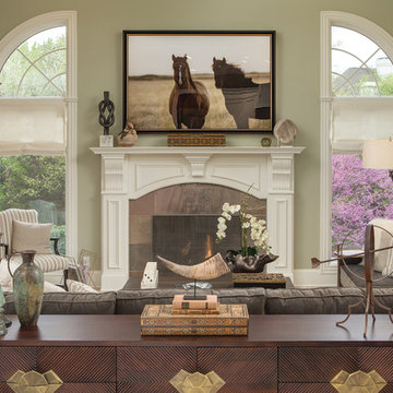 Badgley Residence- From Traditional to Transitional