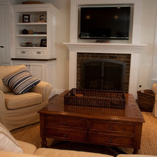 Traditional Living Room by James Glover Residential & Interior Design