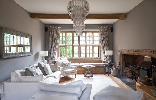 Country Living Room by Gabriel Holland Interior Design