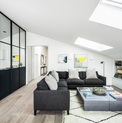Contemporary Living Room by Jo Cowen Architects