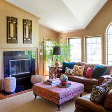 Traditional Living Room by Design Manifest