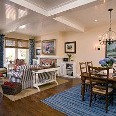 Traditional Living Room by Kittrell & Associates Interior Design