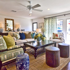 Traditional Living Room by Blackband Design