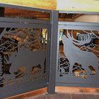 Vail Home Rustic Living Room Denver By Slifer Designs