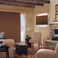 Contemporary Living Room by Blinds.com